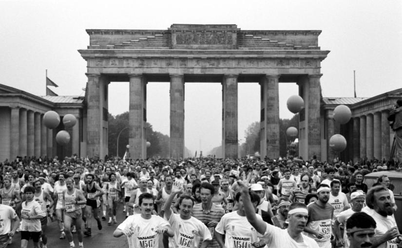 Berlin marathon and The wall